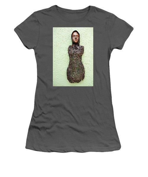 Bust Women's T-Shirt (Junior Cut) by Ronex Ahimbisibwe