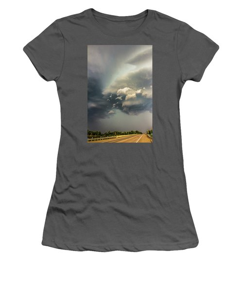 Another Stellar Storm Chasing Day 019 Women's T-Shirt (Athletic Fit)