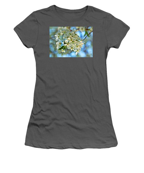 Cherry Tree Flowers Women's T-Shirt (Athletic Fit)