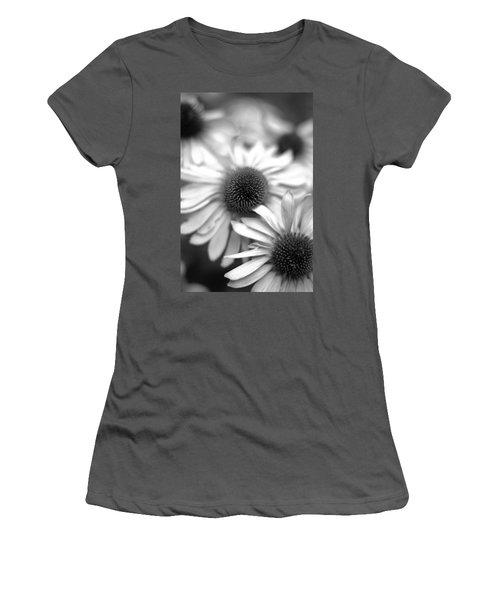 Cone Flower 7 Women's T-Shirt (Junior Cut) by Simone Ochrym