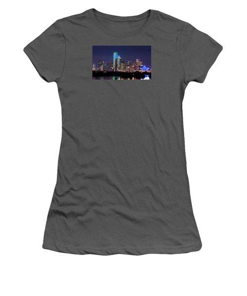 Dallas Skyline Cowboys Women's T-Shirt (Athletic Fit)