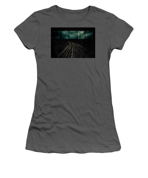 Drifting Women's T-Shirt (Junior Cut) by Mark Ross