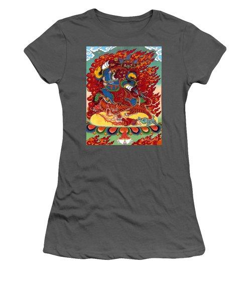Dudjom's Dorje Drollo Women's T-Shirt (Athletic Fit)