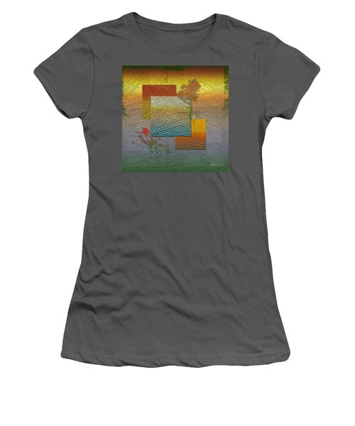 Early Morning In Boreal Forest Women's T-Shirt (Athletic Fit)