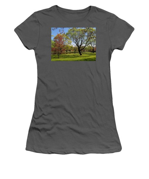 Women's T-Shirt (Junior Cut) featuring the photograph Early Spring by John Scates