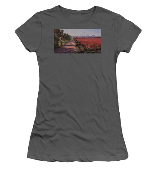 Farm Road Women's T-Shirt (Athletic Fit)