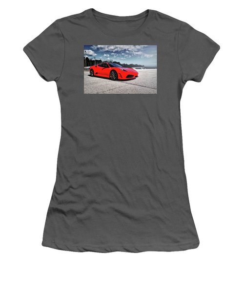 Ferrari F430 Women's T-Shirt (Athletic Fit)