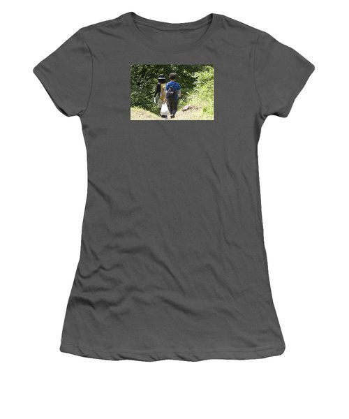 Follow Me Women's T-Shirt (Athletic Fit)