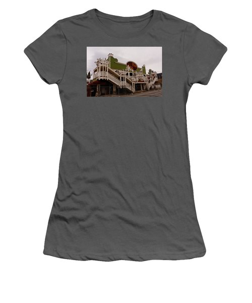 Ghostcasino Women's T-Shirt (Athletic Fit)