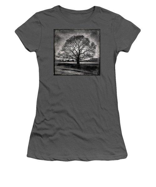 Hagley Tree Women's T-Shirt (Junior Cut) by Roseanne Jones