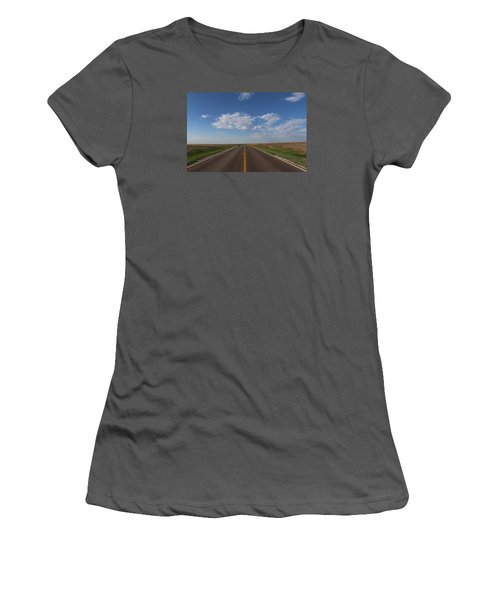 Kansas Road Women's T-Shirt (Athletic Fit)