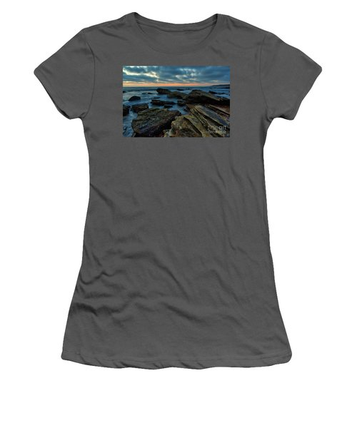 Last Light At Crystal Cove Women's T-Shirt (Athletic Fit)
