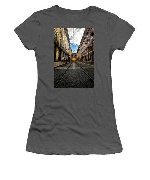 Women's T-Shirt (Junior Cut) featuring the photograph Light by Jorge Maia