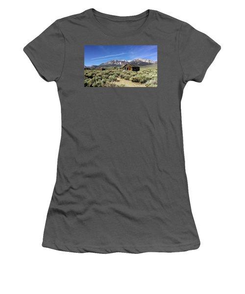 Little House Women's T-Shirt (Junior Cut) by Joseph G Holland