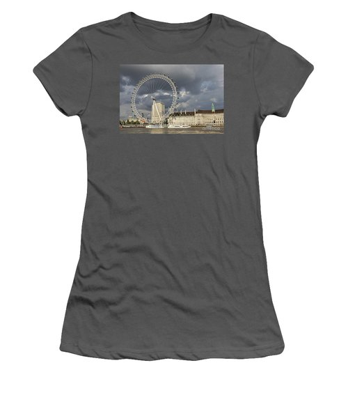 London Eye Women's T-Shirt (Athletic Fit)