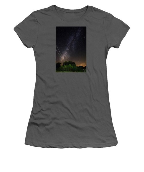 Milky Way Women's T-Shirt (Athletic Fit)