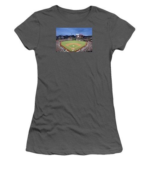 Nats Park - Washington Dc Women's T-Shirt (Junior Cut) by Brendan Reals