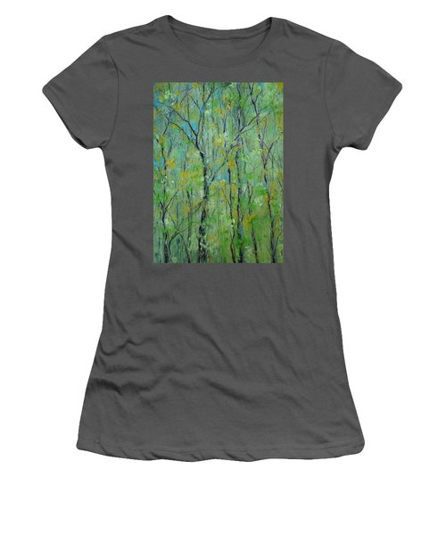 Awakening Of Spring Women's T-Shirt (Athletic Fit)