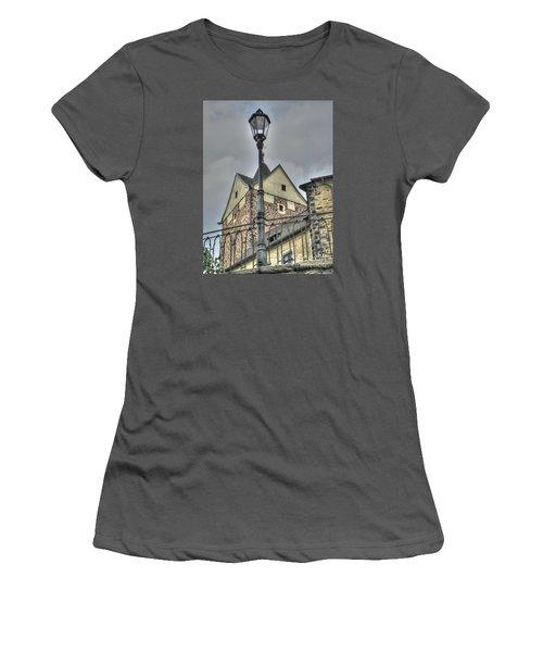 old Tallin Women's T-Shirt (Junior Cut) by Yury Bashkin