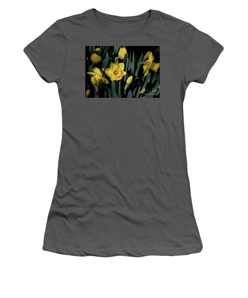 Camelot Daffodils Women's T-Shirt (Athletic Fit)
