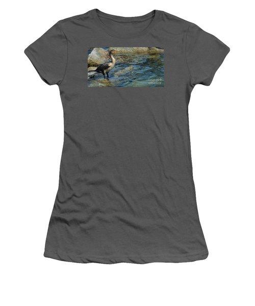 Patiently Waiting Women's T-Shirt (Junior Cut) by Pamela Blizzard