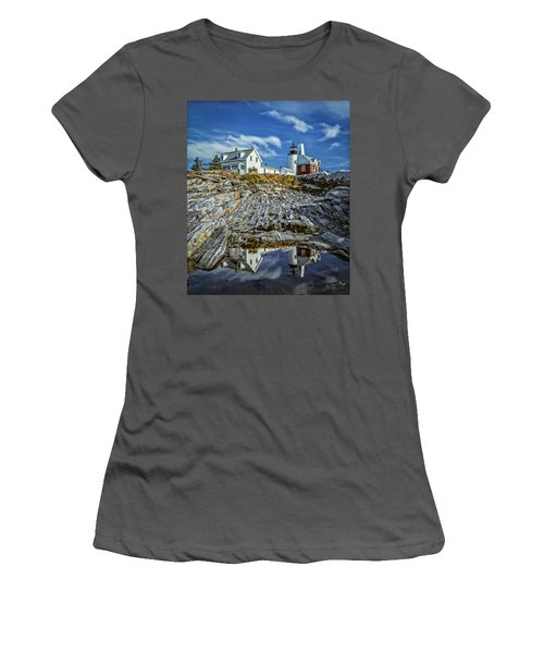 Pemaquid Reflections Women's T-Shirt (Athletic Fit)