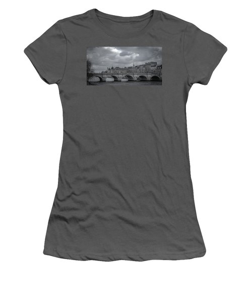Pont Neuf Paris Women's T-Shirt (Athletic Fit)