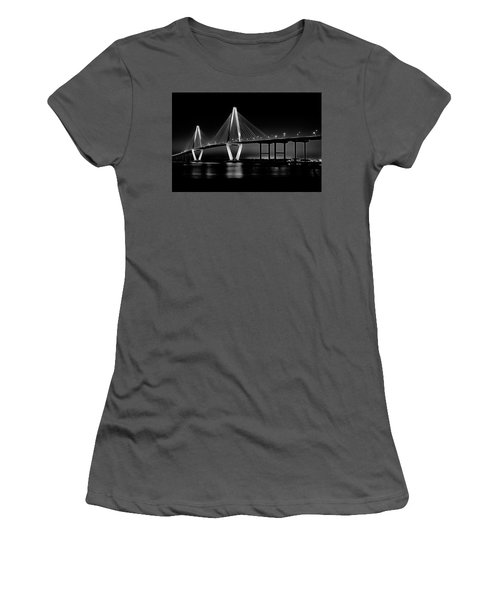 Ravenel Bridge Women's T-Shirt (Junior Cut) by Bill Barber