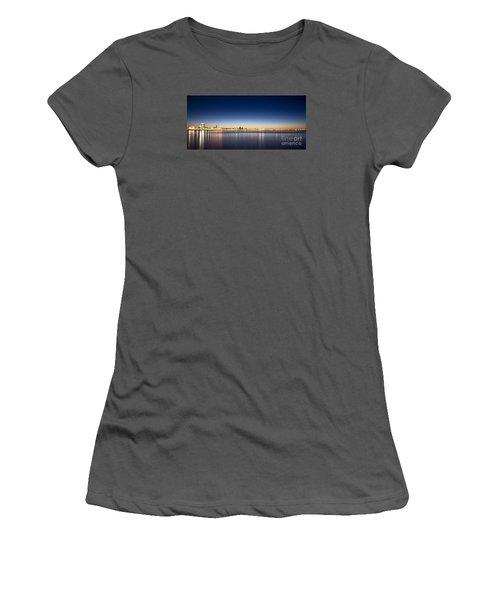Reykjavik Iceland Women's T-Shirt (Junior Cut) by Gunnar Orn Arnason