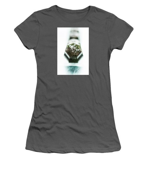 Women's T-Shirt (Junior Cut) featuring the photograph Rosemary Chocolate by Sabine Edrissi