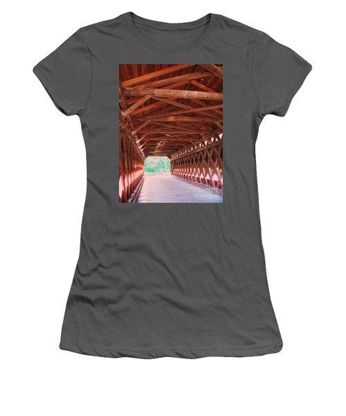 Sachs Bridge Women's T-Shirt (Athletic Fit)