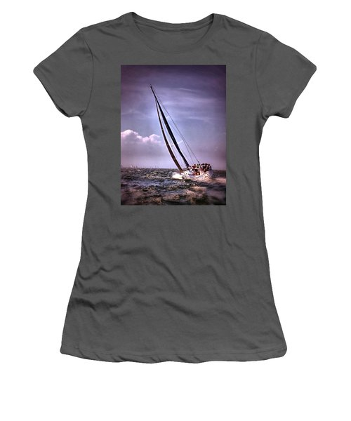 Sailing To Nantucket 003 Women's T-Shirt (Athletic Fit)
