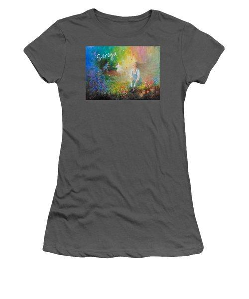 Sarayu Women's T-Shirt (Junior Cut) by Janet McGrath