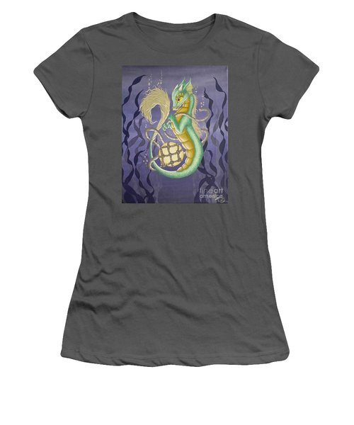 Sea Dragon II Women's T-Shirt (Athletic Fit)