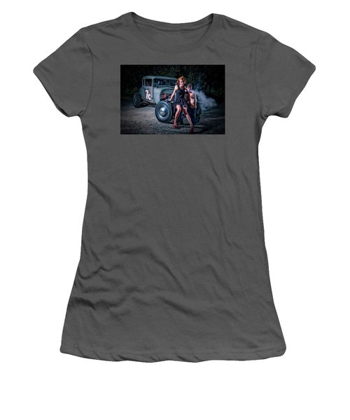 Smoke Women's T-Shirt (Athletic Fit)