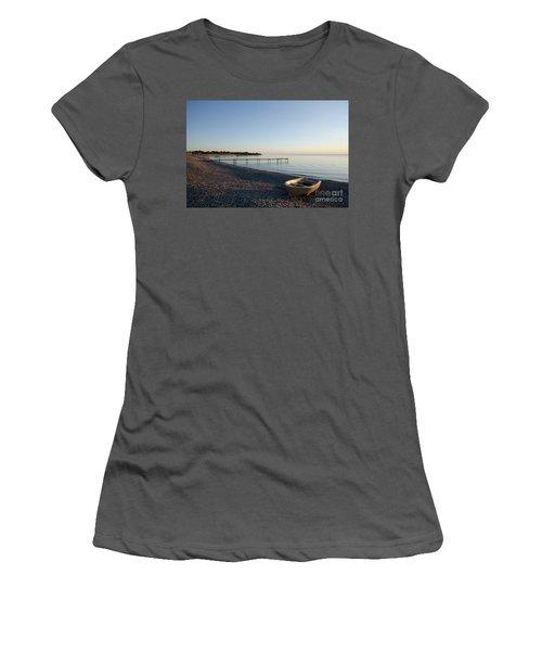 Women's T-Shirt (Junior Cut) featuring the photograph Summer Evening by Kennerth and Birgitta Kullman