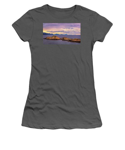 Sunset In The North Women's T-Shirt (Junior Cut)