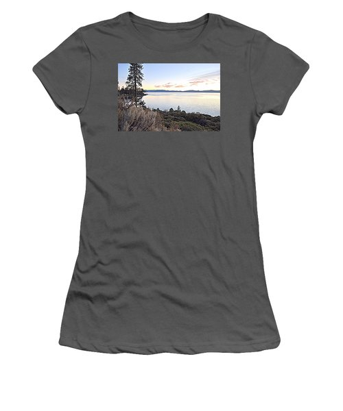Tahoe Shoreline Women's T-Shirt (Athletic Fit)