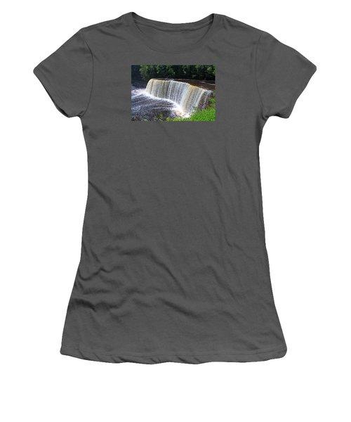 Tahquamenon Upper Falls IIi Women's T-Shirt (Athletic Fit)
