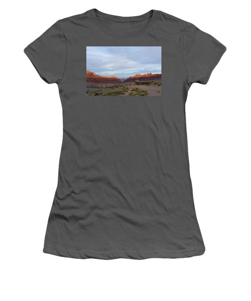 The Castles Near Green River Utah Women's T-Shirt (Athletic Fit)