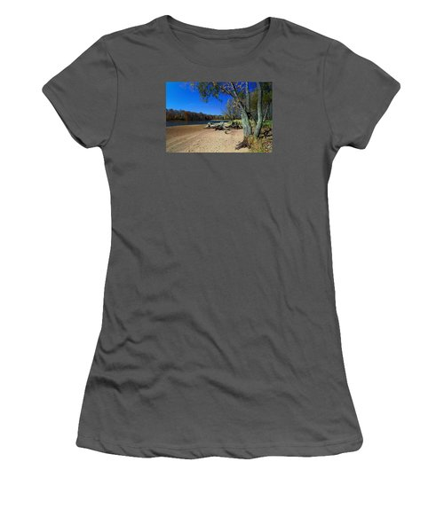 Women's T-Shirt (Junior Cut) featuring the photograph The End Of Summer by Judy  Johnson