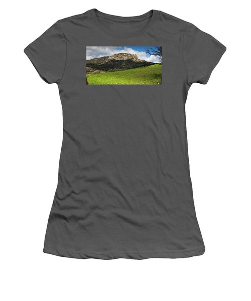 The Three Finger Mountain Women's T-Shirt (Athletic Fit)