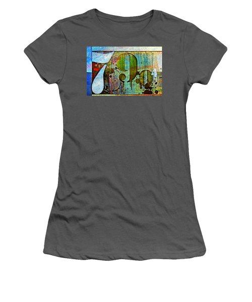 Urban Art Women's T-Shirt (Athletic Fit)