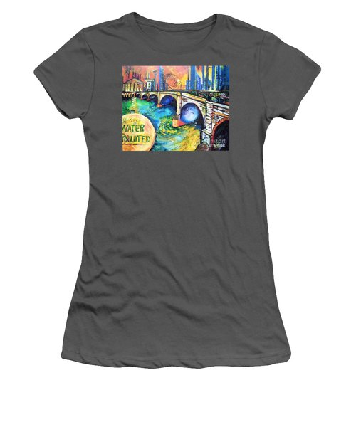 Van Gogh Today Women's T-Shirt (Athletic Fit)