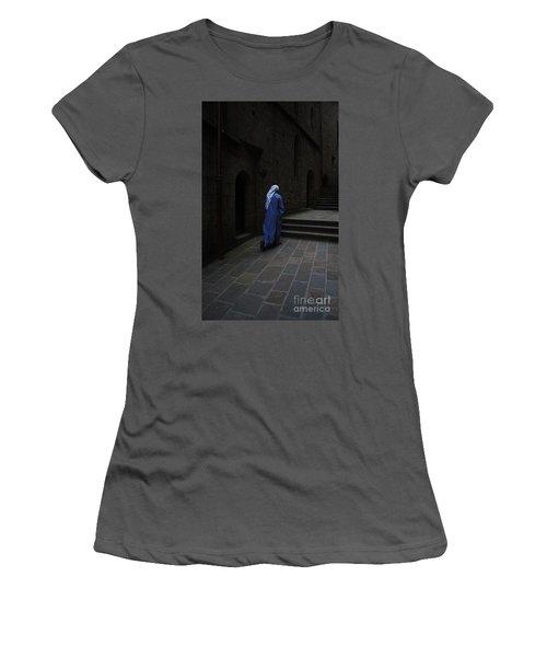 Walk Of Faith Women's T-Shirt (Junior Cut) by Therese Alcorn