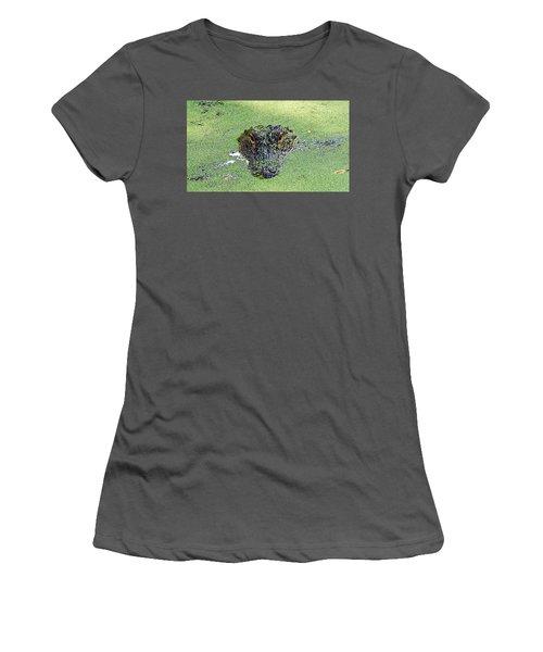 Watching You Women's T-Shirt (Junior Cut) by Kenneth Albin