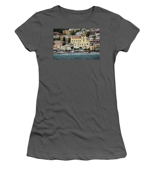 Water Taxi From Amalfi To Positano Women's T-Shirt (Athletic Fit)