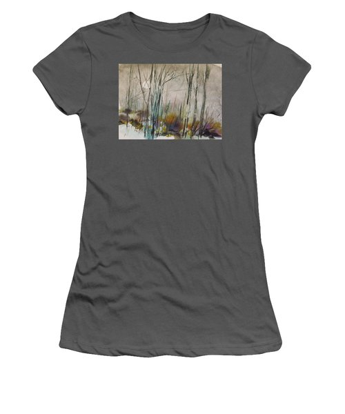 Winter Afternoon Women's T-Shirt (Athletic Fit)