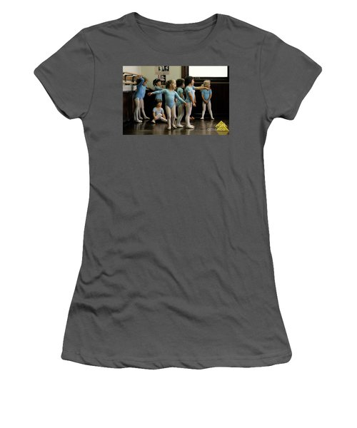 Young Ballet Dancers  Women's T-Shirt (Athletic Fit)
