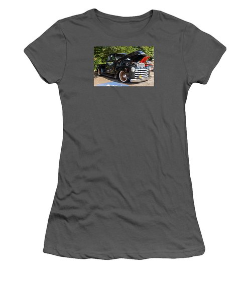 Hall County Sheriffs Office Show And Shine Car Show Women's T-Shirt (Athletic Fit)